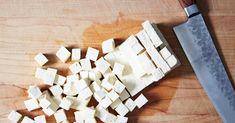 Tofu Recipes: 41 Brilliant Ways to Spice Up Boring Tofu Crispy Tofu, Baked Tofu, Tofu Recipes, Cooking Recipes, Cooking Tips, Tofu Burger, Cilantro Lime Slaw, Veggie Stir Fry, Soy Products
