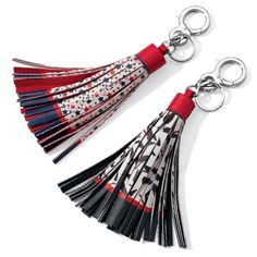 Patriotic or fabulous shoe prints? Which handbag tassel will be decorating your bag?