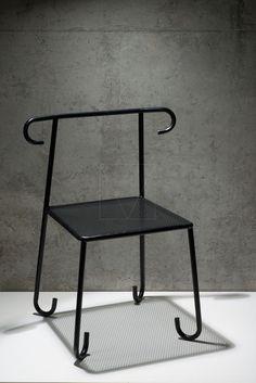 Sinusoid chair beta version Dynasty by Sergey Makhno Architect
