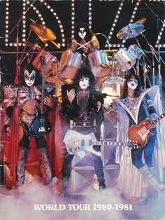 Kiss world tour 1980 1981