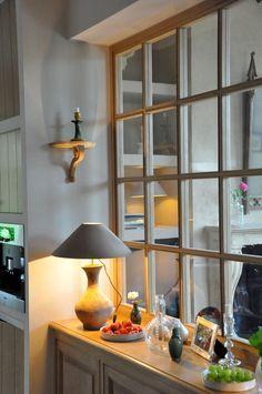 interior windows between rooms - Google Search