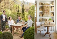 Home Tour: Inside a Dreamy California Farmhouse Patina Farm, Outdoor Furniture Sets, Outdoor Decor, California Style, House Tours, Interior And Exterior, Interior Decorating, Shabby Chic, House Styles