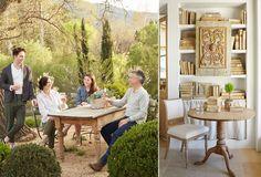 Home Tour: Inside a Dreamy California Farmhouse Patina Farm, Outdoor Furniture Sets, Outdoor Decor, California Style, House Tours, Interior And Exterior, Interior Decorating, Shabby Chic, Farmhouse