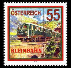 Sello de Austria (Österreich stamp).