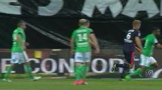 FOOTBALL: Ligue 1: Les Verts European hopes hit by Bordeaux draw