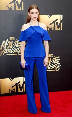 Holland Roden from MTV Movie Awards 2016 Red Carpet Arrivals