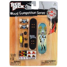 Tech Deck Wood Competition Series [Toy Machine - Josh Harmony]