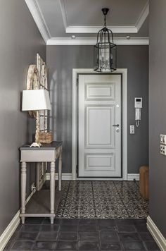 66 Ideas For Wall Storage Mudroom Entrance Grey Interior Doors, Grey Doors, Home Interior, Interior Design, Home Decor Bedroom, Living Room Decor, Wall Storage, Tall Cabinet Storage, Entry Hallway