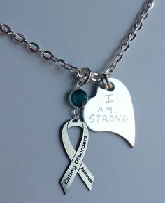 disorder awareness necklace your color