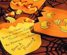 pumpkin carving invite