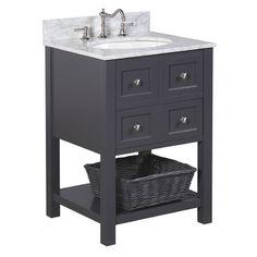 """Found it at Wayfair - New Yorker 24"""" Single Bathroom Vanity Set"""