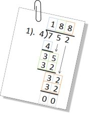 FREE Beginning Long Division Worksheet! Boxes for students