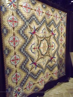 This quilt made me say 'wow! love it'