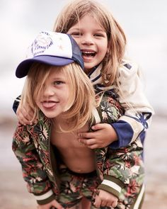 Meet our latest little #DoubleAct: Captain and Sugar of @CaptainandtheGypsyKid! These beach babes take to the surf wearing @Stella_Kids in sunny Australia. Read the interview and discover the film on #StellasWorld at #StellaMcCartney.com