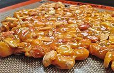 Heartbreaker Nut Brittle Recipe (No Corn Syrup).
