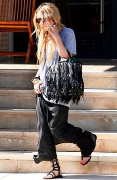 Get Mary-Kate Olsen's Boho Chic Look