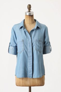 Can never go wrong with a classic Chambray shirt!