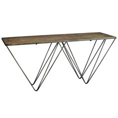 Graham and Green Ruffin Console table