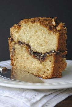 Cinnamon Chocolate Coffee Cake... Minus the walnuts!