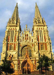 St. Nicholas Roman Catholic Cathedral in Kyiv, Ukraine