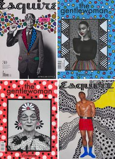 Illustrations On Fashion Magazines Covers by Ana Strumpf