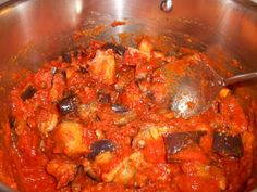 Use your Varoma to make #Aubergine and TomatoStew - a #Recipe for #Thermomix