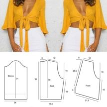 Sewing Patterns Free, Free Sewing, Sewing Tutorials, Free Pattern, Sewing Ideas, Date Outfits, Couture, White Jeans, Crop Tops