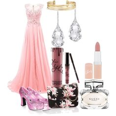 Flor, by elimedinacibeira on Polyvore featuring polyvore beauty Rimmel Gucci Kylie Cosmetics Plukka Stella & Dot