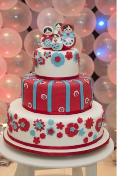Matrioskas Dollls cake