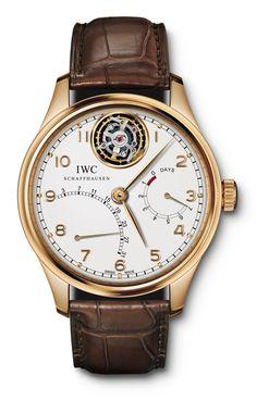 Men's IWC Portuguese Tourbillon Mystère Rétrograde Watch IW504402