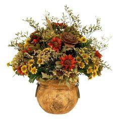 Artificial Silk Flower Arrangements