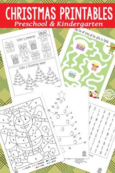 Christmas Printables for Kids. Word searches, mazes, color by numbers. could bind this together and make an activity book for a family trip Printables for Kids. Word searches, mazes, color by numbers. could bind this together and make an act Christmas Activities For Kids, Preschool Christmas, Noel Christmas, Christmas Colors, Book Activities, Christmas Themes, Christmas Worksheets, Christmas Printable Activities, Christmas Writing