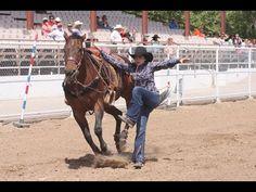 NLBRA Finals Goat tying Champion horse - YouTube