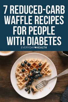 Fans of the comforting breakfast staple, rejoice! These recipes come with all of the flavor and none of the guilt that traditional waffles introduce. Almond Flour Waffles, Coconut Flour, Diabetic Recipes, Healthy Recipes, Fluffy Waffles, Healthy Food, Yummy Food, Fiber Rich Foods, Eating Vegetables