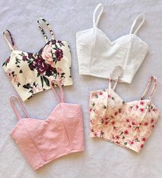 Croped roupas bonitas, roupas estilosas, sapatos, roupa do dia, roupa de ve Crop Top Outfits, Cute Casual Outfits, Teen Fashion Outfits, Mode Outfits, Party Outfits, Trendy Dresses, Simple Dresses, Casual Dresses, Diy Vetement