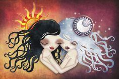 Emma & Gemma (#Gemini) ~ Zodiac Series by sandygrafik