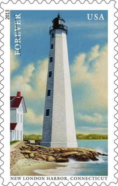 MADE IN USA FAST DELIVERY COLONIAL HARBOR LIGHTHOUSE Dollhouse Art Picture