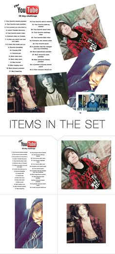 """""""Best video outro // 30 day YouTube challenge"""" by danandphil5sos ❤ liked on Polyvore featuring art"""