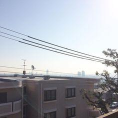 Good morning, Kobe ⚓️ #kobe #hyogo #spring #japan #exchange #student #studentlife #exchangeinjapan #kobeuniversity