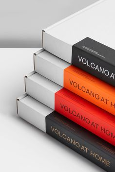 Coffee packaging by London-based Commission for small-batch, Nespresso-compatible, fair trade coffee pods Volcano At Home