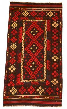 Kilim rug Afghan 185 x 91 cm