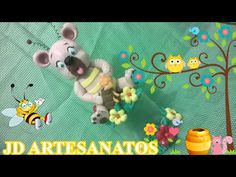 POTE DE URSO COMENDO MEL - YouTube