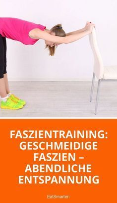 Faszientraining: abendliche Entspannung - All About Fitness, Healthy Foods, Sports Activities Fitness Workouts, Fitness Motivation, Fun Workouts, Yoga Fitness, Fitness Hacks, Fitness Humor, Health App, Health Goals, Health Fitness