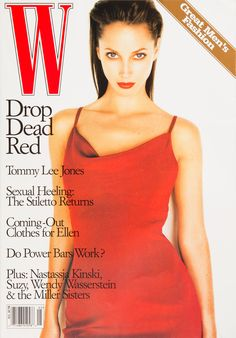 W Magazine's Supermodel Cover Girls - Christy Turlington on the cover of W Magazine May 1997