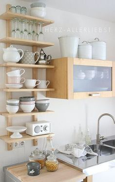 nice idea for tiny house kitchen #tinyhouse #ideas
