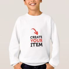 CREATE-YOUR-OWN DIY Custom upload your design Sweatshirt - create your own gifts personalize cyo custom