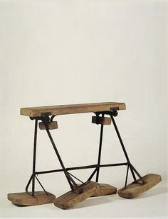 Charles and Ray Eames, Childrens' Mechanical Horse, c1948.