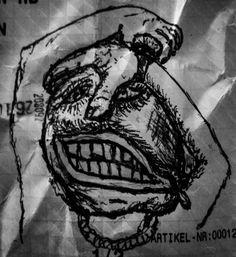 Meaninglesstime #gettowork #doodle #upcycle #portrait Upcycle, Doodles, Skull, Portrait, Tattoos, Tatuajes, Upcycling, Headshot Photography, Repurpose