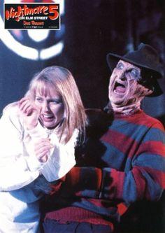 A Nightmare on Elm Street 5: The Dream Child (1989) lobby card