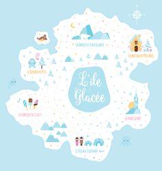 » Illustration : L'île glacée